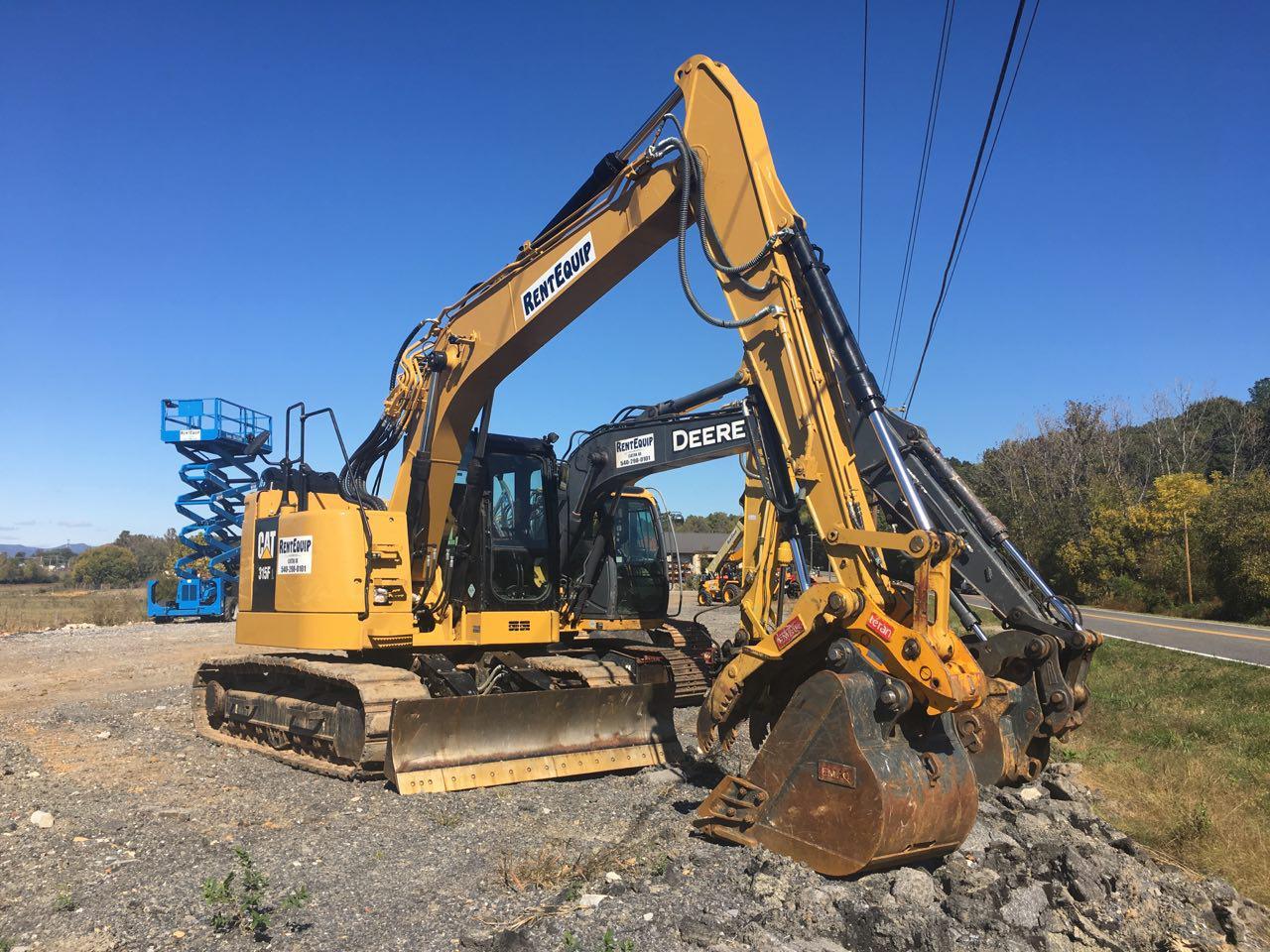 Excavator Rentals
